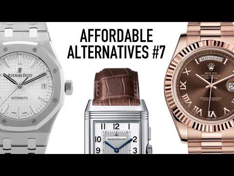 Affordable Alternatives  #7 - Rolex Day-Date, JLC Reverso & Audemars Piguet Royal Oak Luxury Watches