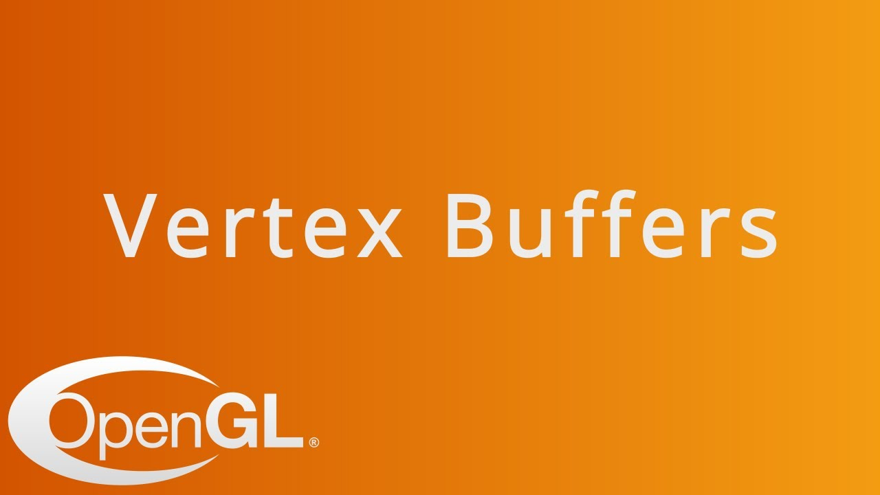 Download Vertex Buffers and Drawing a Triangle in OpenGL