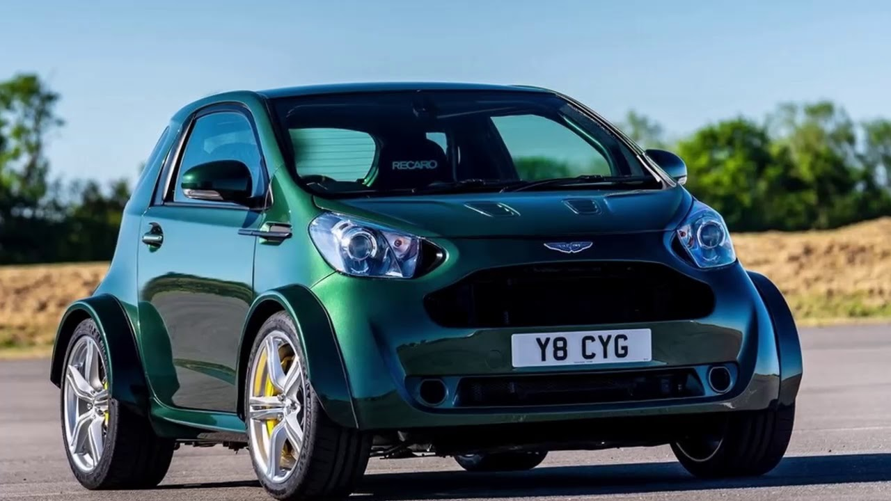 Aston Martin V8 Cygnet Concept The Ultimate City Car Youtube