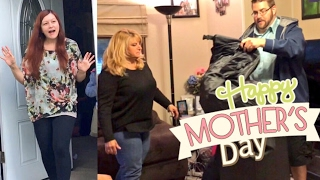 EPIC MOTHERS DAY FAIL! MY MOM REACTS TO HER CRINGE GIFT!