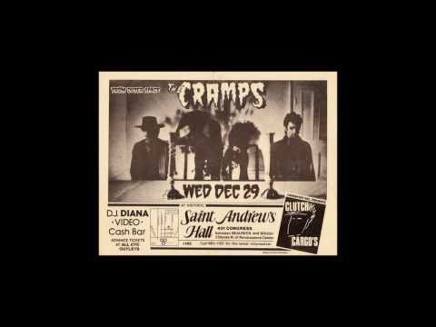 The Cramps Sinners (live 1982 Detroit)