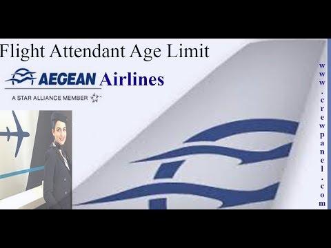 Aegean airlines cabin crew age limit   cabin crew minimum age requirement in Aegean airlines