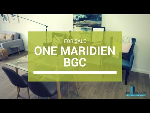 High Street South One Maridien, Alveo Condo in BGC Taguig For Sale ₱ 17M
