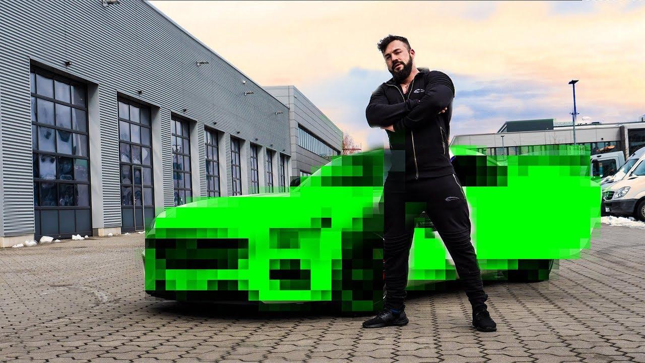 Mein NEUES Auto! - Audi RS, Porsche GT oder Mercedes AMG? Neues Auto & PS Monster vom Fitness Youtuber Roadtoglory vorgestellt