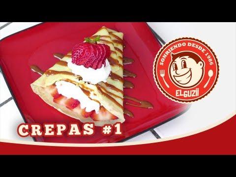CREPAS!! #1 (Receta Fácil) - El Guzii