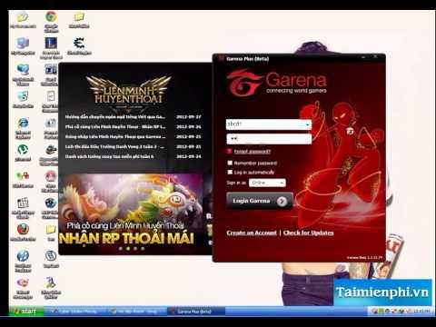 Hướng dẫn chơi Liên Minh Huyền Thoại LOL trên Garena Plus mới nhất - http://taimienphi.vn