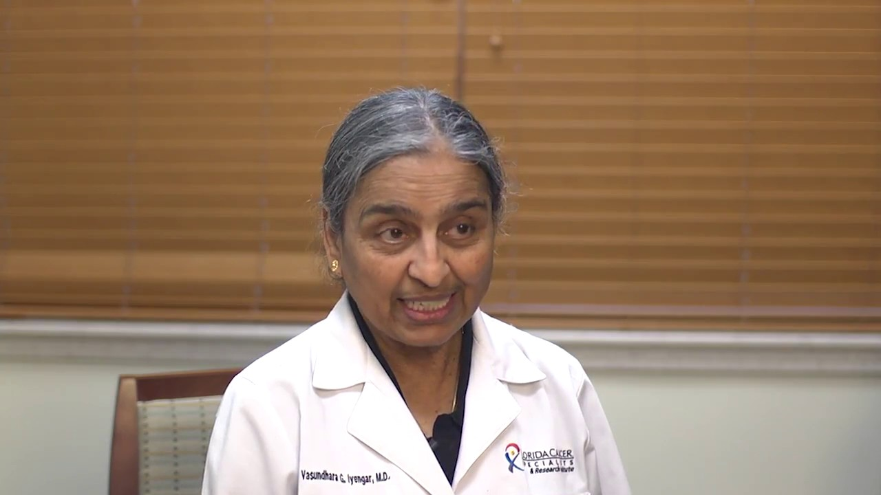 Vasundhara G  Iyengar, MD, FACP | Florida Cancer Specialists
