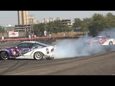The First Twin Car Drifting In India By Gautam Singhania Shawn