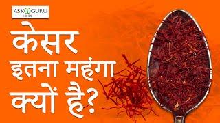 Why Is Saffron So Expensive? | केसर इतना महंगा क्यों है? #HINDI - ASKIGURU