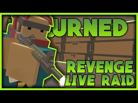 AMAZING LIVE REVENGE JACKPOT BASE RAID - Unturned Rust Mod Base Raid