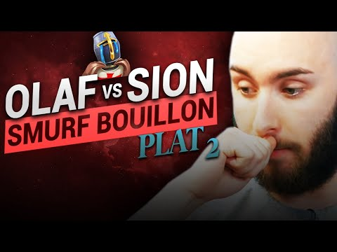 Vidéo d'Alderiate : [FR] ALDERIATE & AKABANE - SMURFING BOUILLON - OLAF VS SION - IMPOSSIBLE DE PORTER LA BOTLANE
