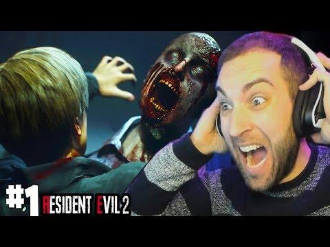MENUDO INICIO ME ACORRALAN LOS ZOMBIES  - RESIDENT EVIL 2 Remake 1