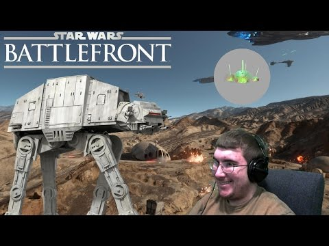 Tow Cable Takedown, Dodging Orbital Strikes, & Dioxis Grenade! (Star Wars Battlefront Stream 7/3/16)
