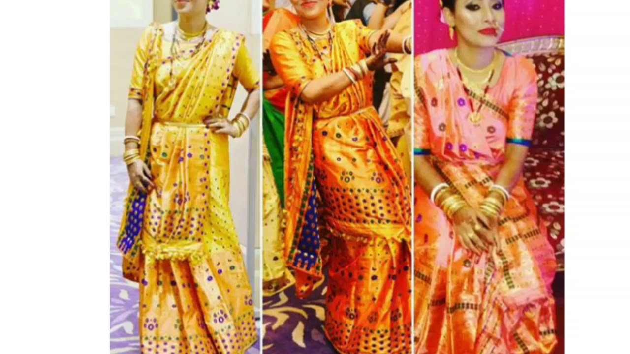 Assamese Wedding Dress 5