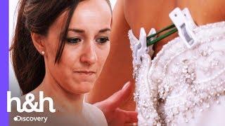 Novia quiere un vestido que es demasiado grande para ella | Vestido de Novia | Discovery H&H