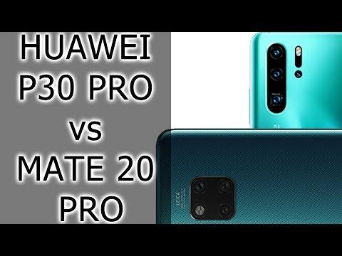 СРАВНЕНИЕ   Huawei P30 Pro Vs Huawei Mate 20 Pro