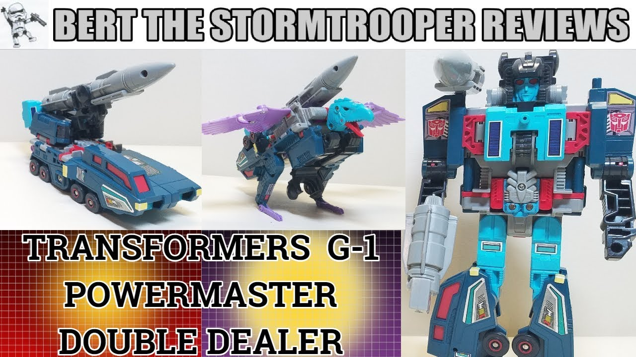 G1 Powermaster DOUBLEDEALER Review by Bert the Stormtrooper - Throwback Thursday