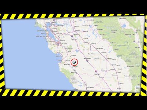 USGS: Reports 4.7 Near Salinas, California