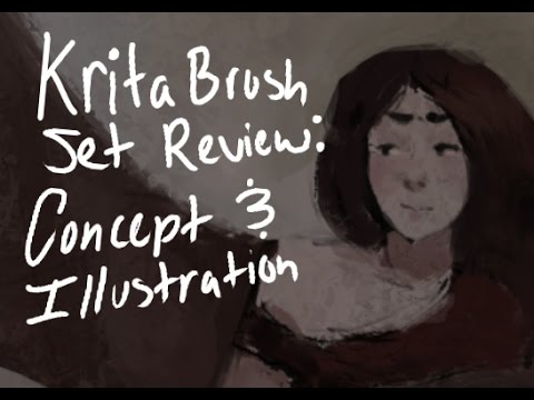 "[REVIEW]: Krita ""Concept and Illustration"" Brush Set by Pyteo"