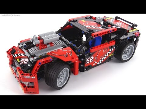 LEGO Technic 2015 Race Car - 42041 alternate build!