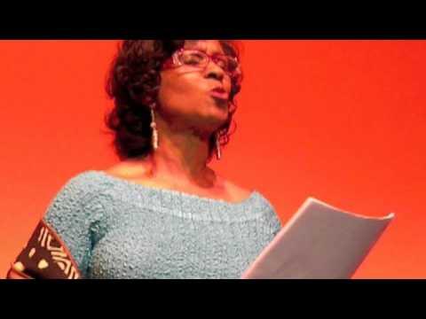 Iona Morris in Africanamerican  author tribute
