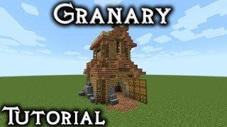 Minecraft: Rohan Granary Tutorial (Vanilla)