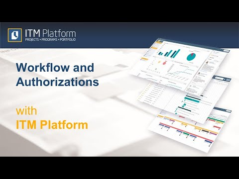 Workflow and Authorizations  with ITM Platform
