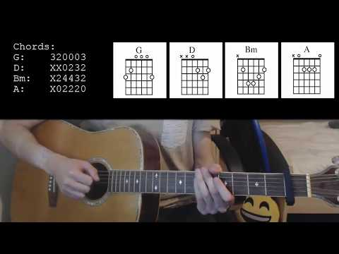 Thomas Rhett - Marry Me EASY Guitar Tutorial