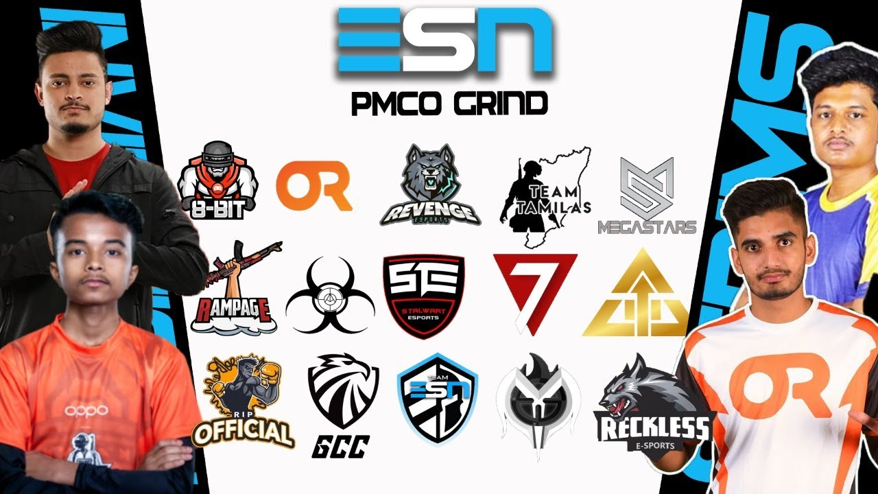 ESN PMCO GRIND DAY 2 | FT. OR,MEGASTARS,8BIT,TEAM TAMILAS | ESN GAMING  CASTED BY TOXIC
