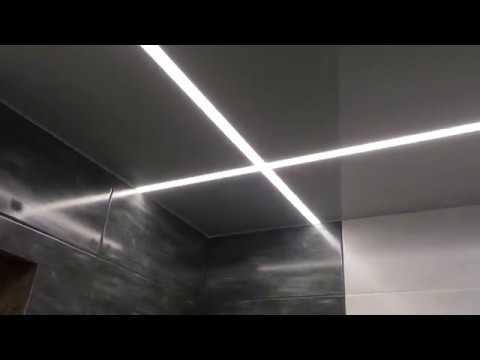 Варианты установки драйверов (блоков питания) светодиодной ленты в натяжной потолок.