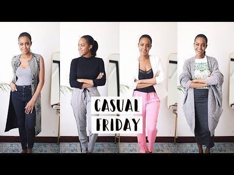 CASUAL FRIDAY OUTFIT IDEAS FOR WORK | THIS IS ESS