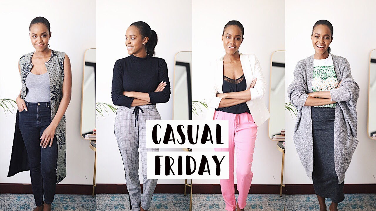 881a143a6228 CASUAL FRIDAY OUTFIT IDEAS FOR WORK | THIS IS ESS - YouTube