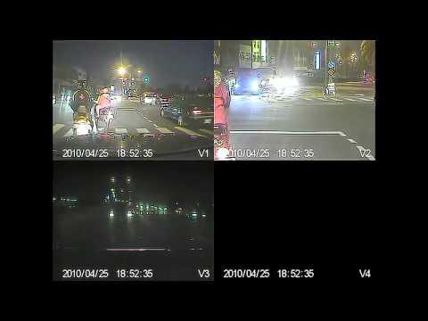 目擊者二代_蹓龜車大發Daihatsu&違規直接左轉的機車