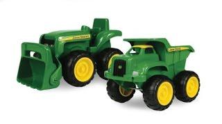 Çocuklar İçin Oyuncak Araçlar, Oyuncak Kamyon, Traktör Oyuncak, Karikatür