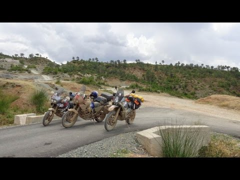 Albania Motorcycle Trip 2015 Full Movie KTM LC8 Adventure