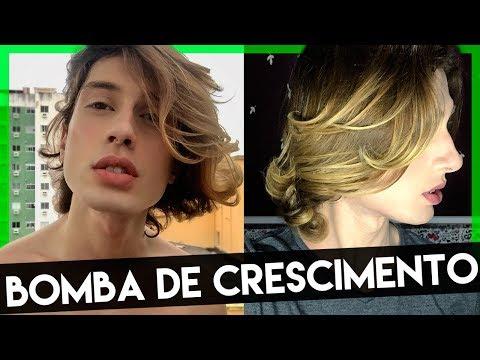 RECEITA CASEIRA para CRESCER CABELO RÁPIDO com Óleo de Coco e BABOSA
