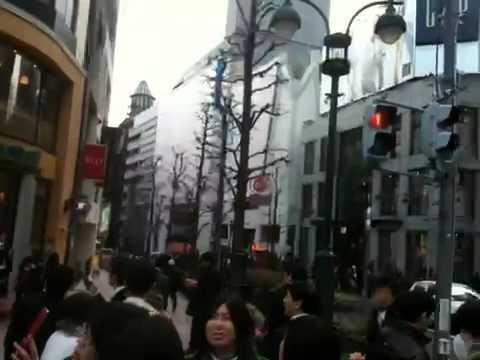 Massive earthquake in