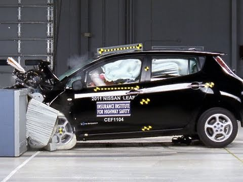 First Crash Test Ratings Of Electric Cars