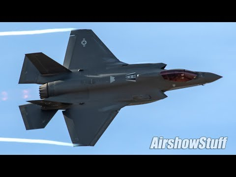 FIRST LOOK - New USAF F-35 Full Aerobatic Demonstration!