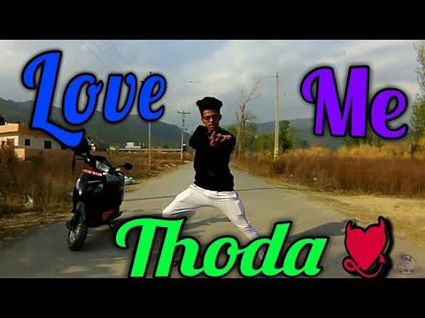 Love me thoda dance | cover by sangam thapa - YouTube