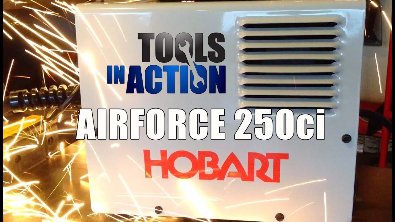 hobart airforce 250ci plasma cutter with built in air compressor