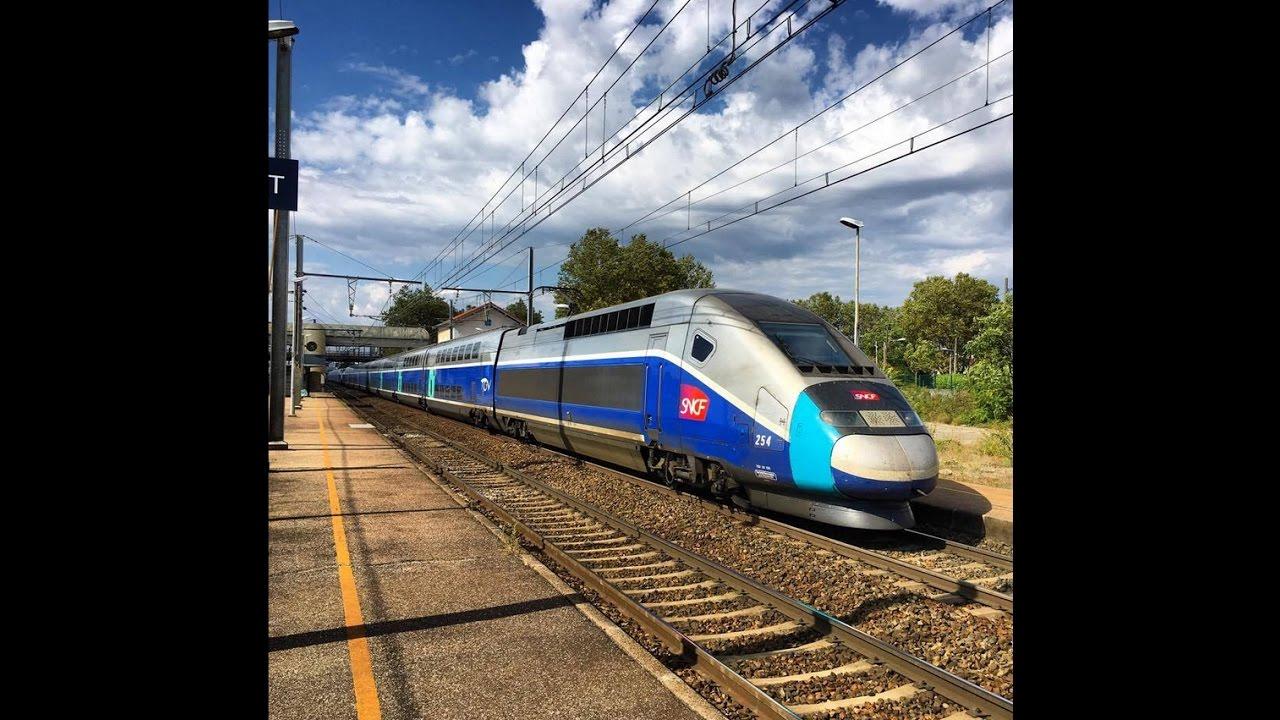 High Speed Train TGV Eurostar AVE OUIGO In France