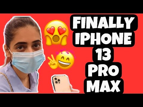 Download FINALLY IPHONE 13 PRO MAX 😍 💸   KAJAL CHOUDHARY