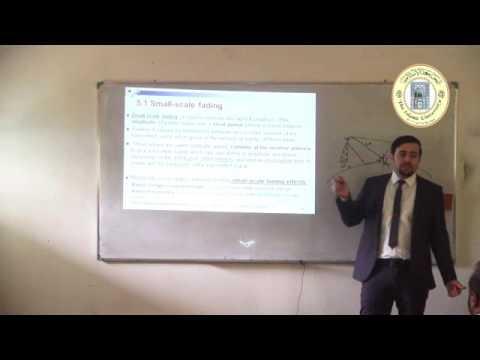 المحاضرة : Small scale multipath propagation