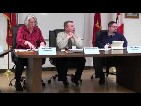 Marine City Commission Mgt. , Thursday, Feb. 15, 2018
