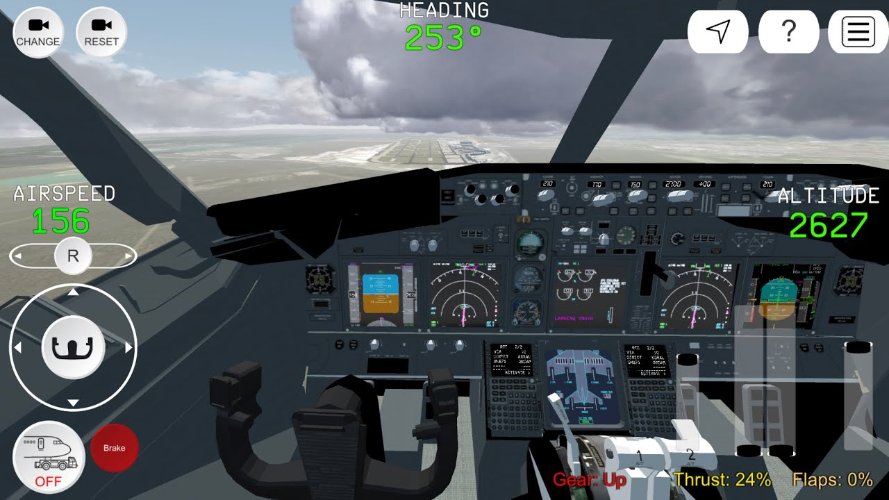 FS Advanced 2019 for iOS and Android flight Simulator - YouTube