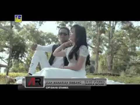 Usah manaruah bimbang David Iztambul feat Nabila moure ~Lagu minang Yg paling romantis