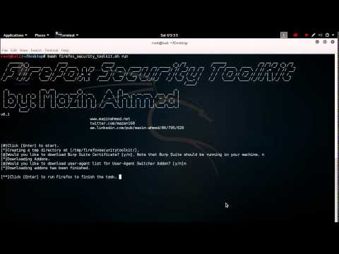 Firefox Security Toolkit — A Tool that Transforms Firefox Browsers