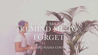 Kygo & Miguel - Remind Me To Forget (Piano Cover) [+Sheets]