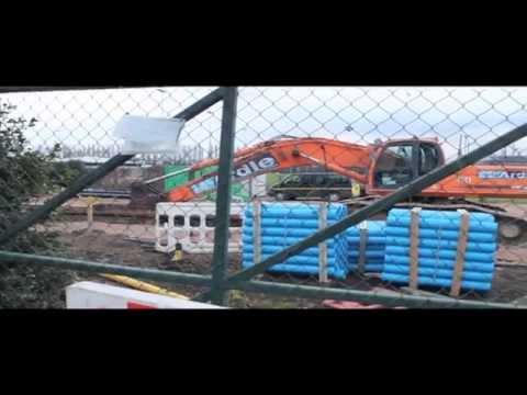 (NET) Nottingham Express Transit Construction - The New Tram System - Short Documentary